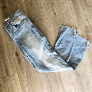 Zara Light Wash Premium Skinny Jeans 4